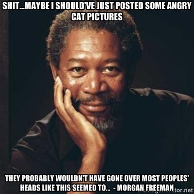 Morgan Freeman quote #2