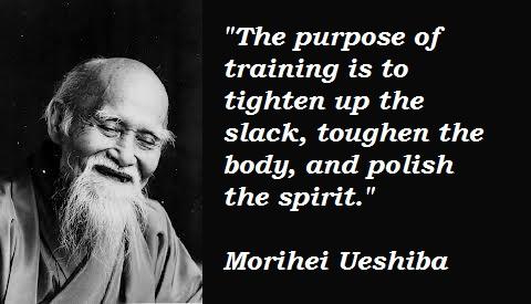 Morihei Ueshiba's quote #3