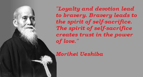 Morihei Ueshiba's quote #1