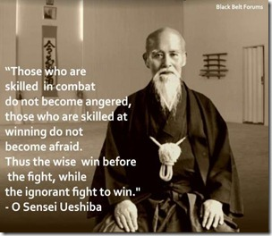 Morihei Ueshiba's quote #7