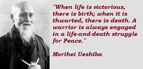 Morihei Ueshiba's quote #6