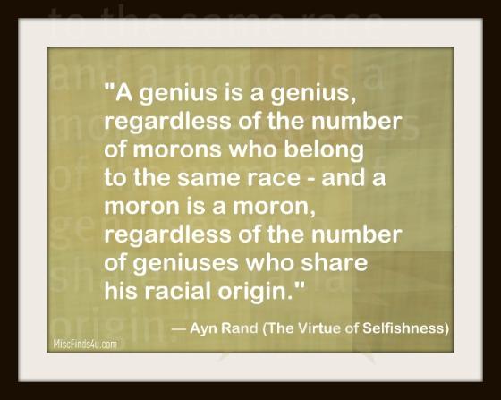 Moron quote #1