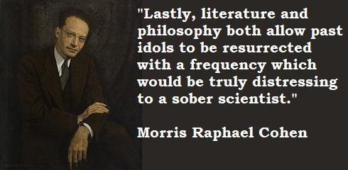 Morris Raphael Cohen's quote #4