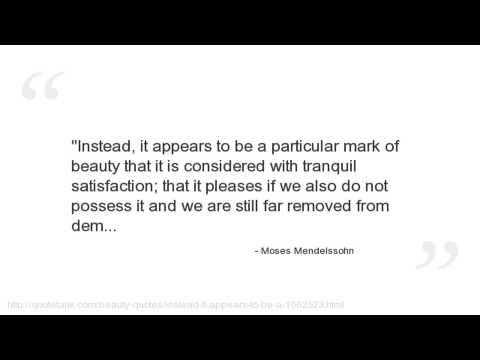 Moses Mendelssohn's quote #4