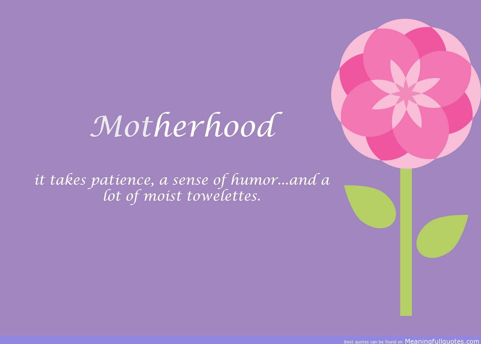 Motherhood quote #8