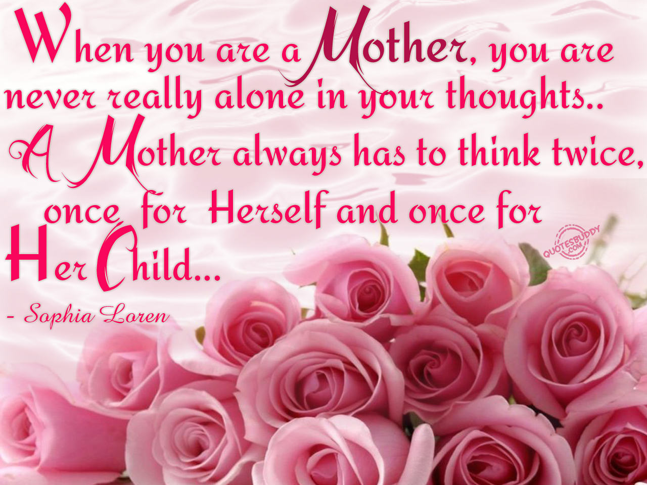 Mothers quote #1