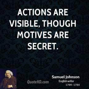 Motives quote #1
