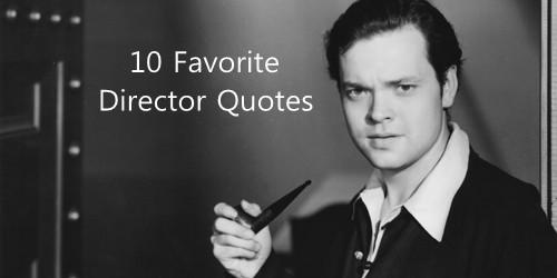 Movie Director quote #1