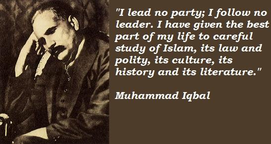 Muhammad Iqbal's quote #7
