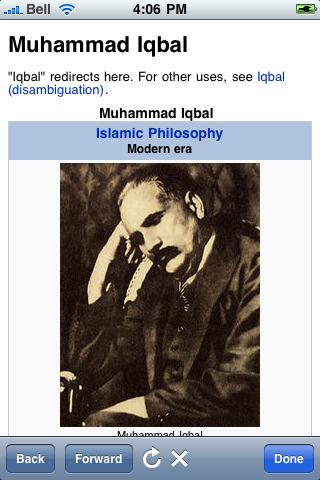 Muhammad Iqbal's quote #1