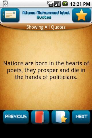 Muhammad Iqbal's quote #2