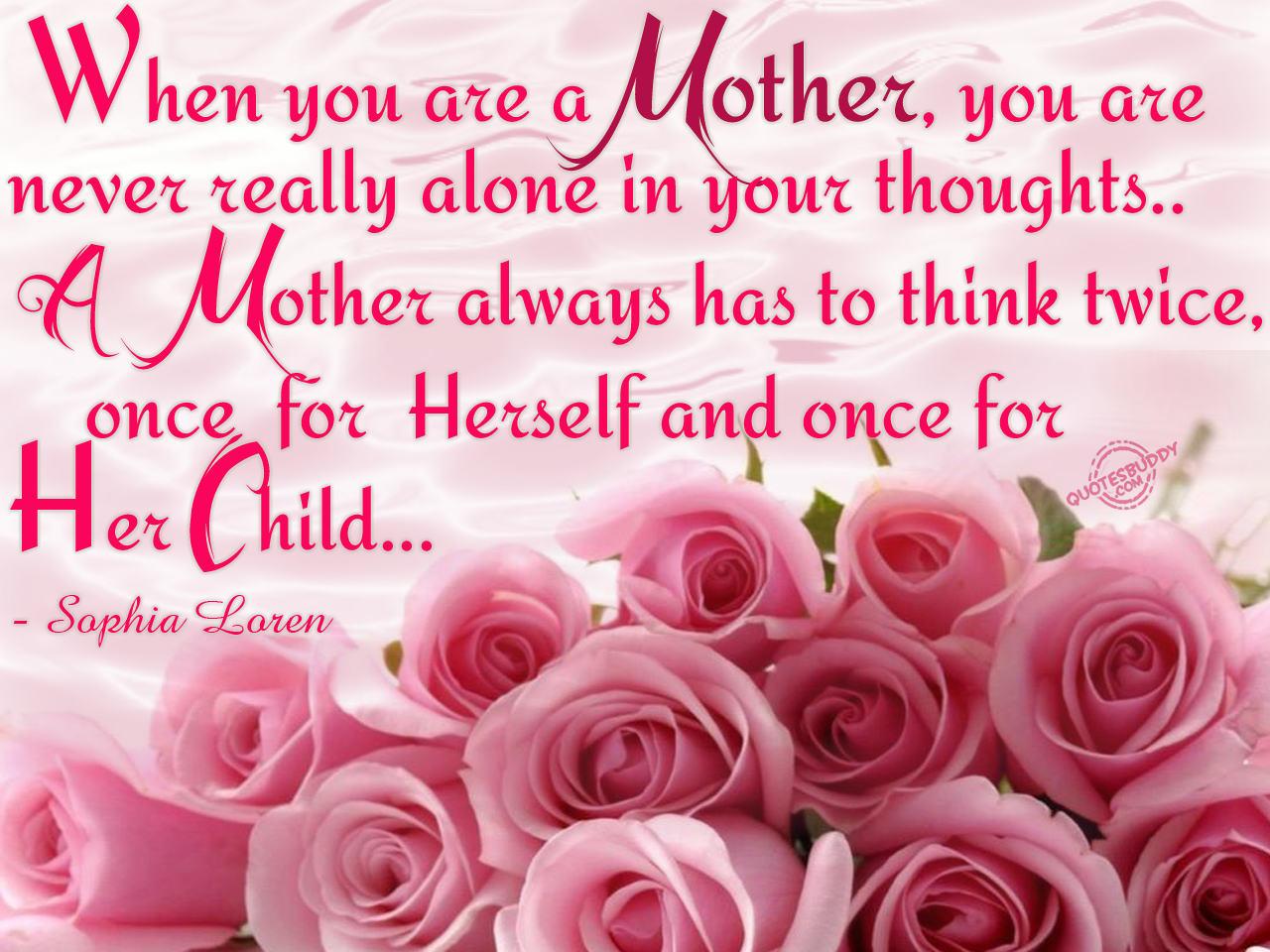 Mum quote #1