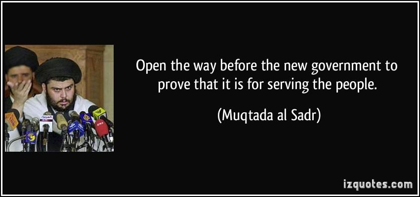 Muqtada al Sadr's quote #8