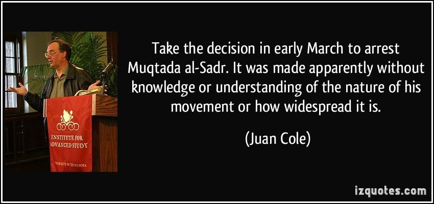 Muqtada al Sadr's quote #2