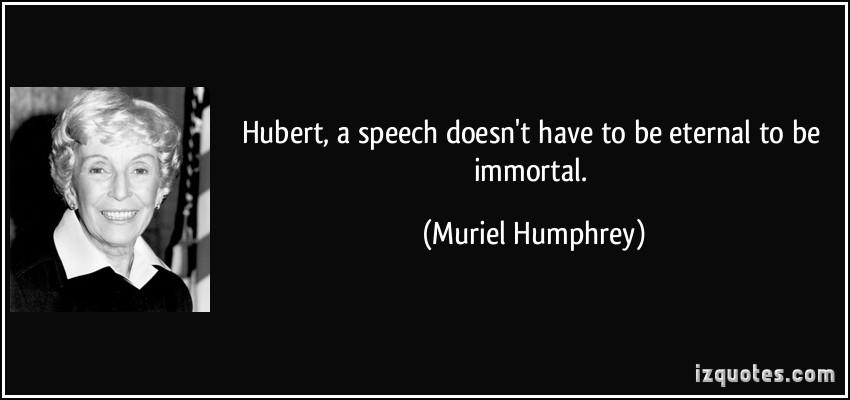 Muriel Humphrey's quote #1