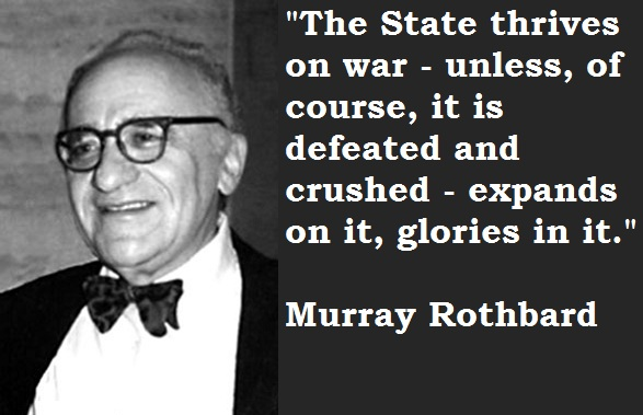 Murray Rothbard's quote #1