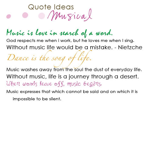 Musical quote #4