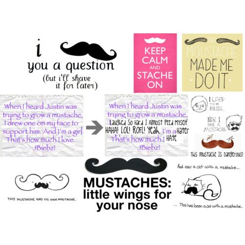 Mustache quote #1