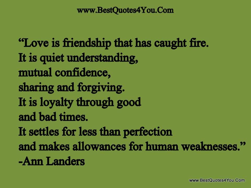 Mutual Understanding Quote