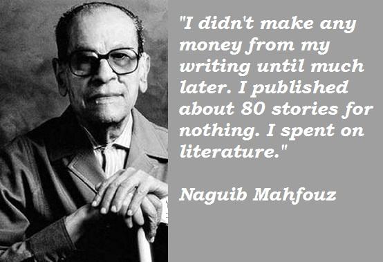 Naguib Mahfouz's quote #5