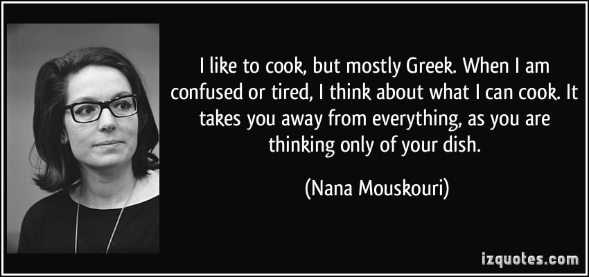 Nana Mouskouri's quote