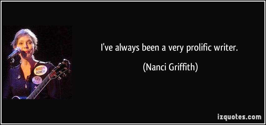 Nanci Griffith's quote #4