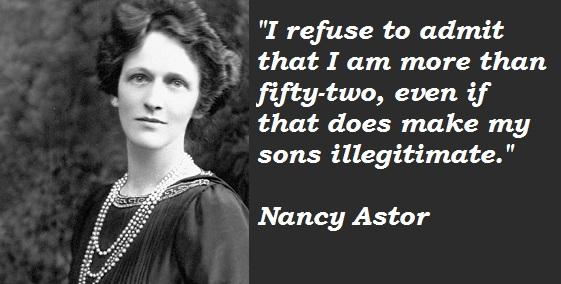 Nancy Astor's quote #5