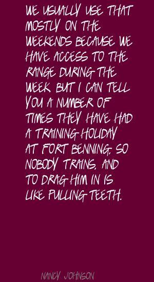 Nancy Johnson's quote #3
