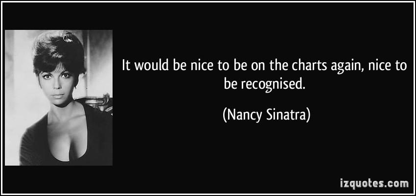 Nancy Sinatra's quote #6