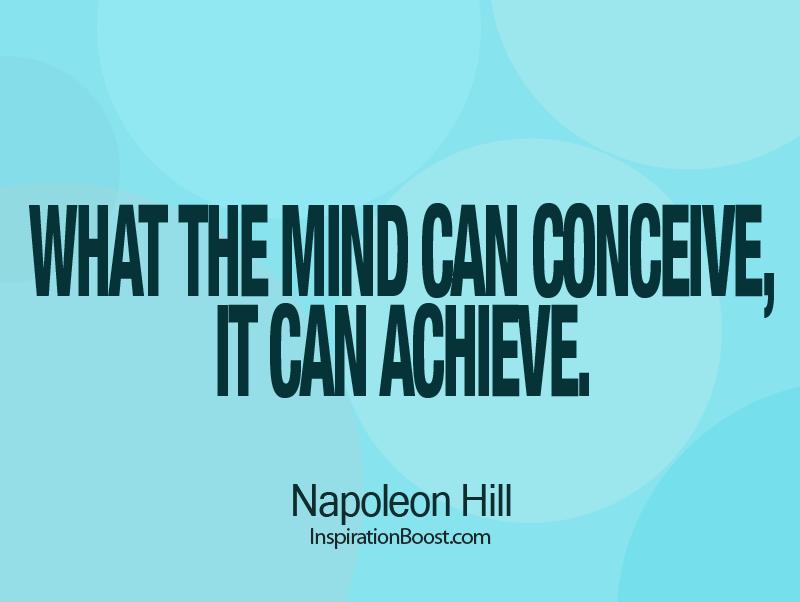 Napoleon Hill's quote #3