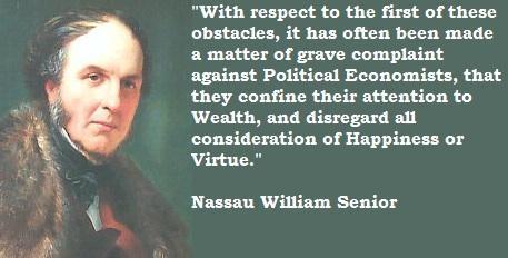 Nassau William Senior's quote #4
