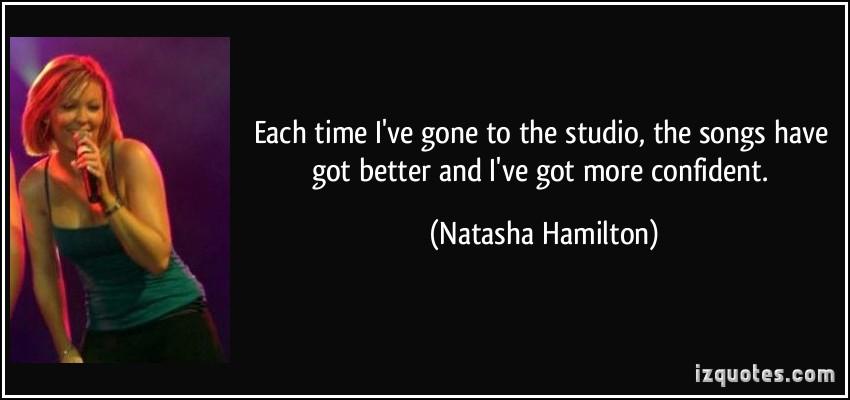 Natasha Hamilton's quote #3