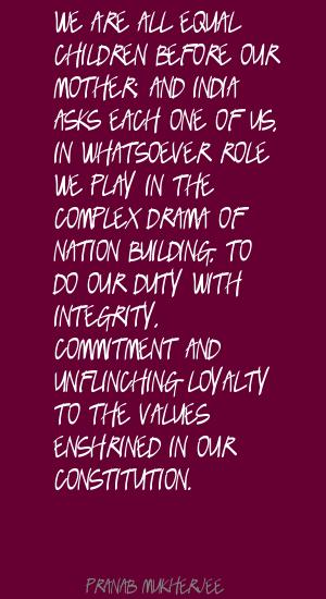 Nation-Building quote #2