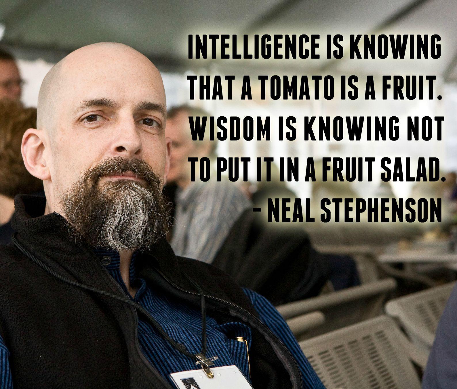 Neal Stephenson's quote #2