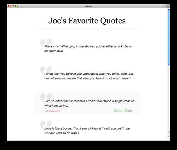 Neat quote #4