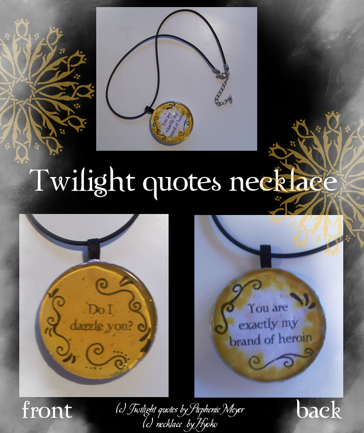Necklace quote #1
