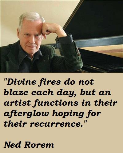 Ned Rorem's quote #2