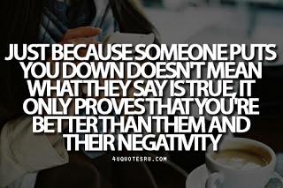 Negativity quote #2