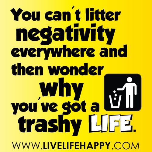 Negativity quote #3