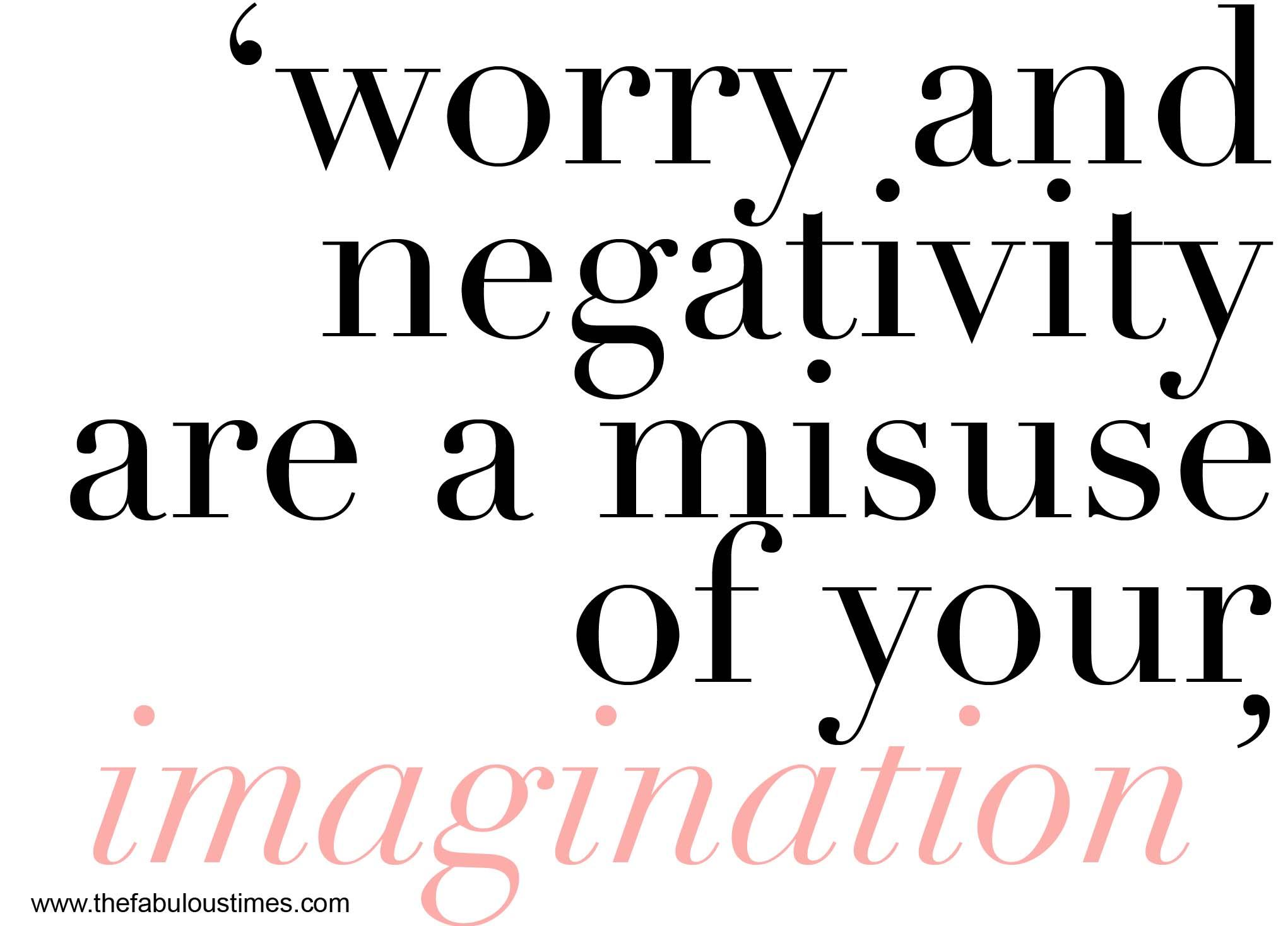Negativity quote #4