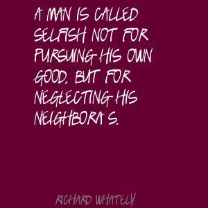 Neglecting quote #1