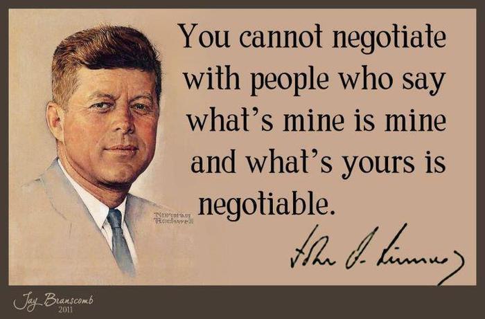 Negotiating quote #1