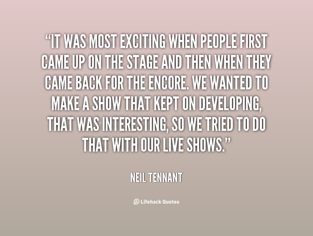 Neil Tennant's quote #6