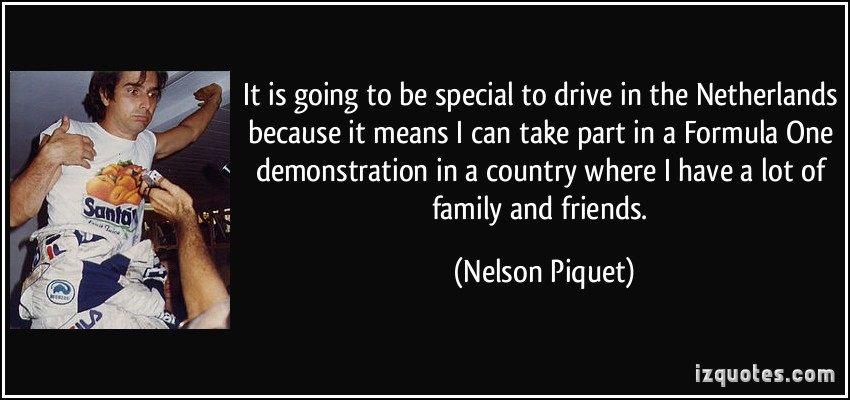 Nelson Piquet's quote #4