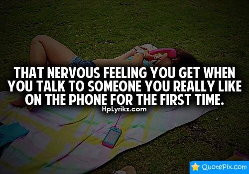 Nervous quote #8