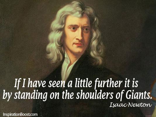 Newton quote #1
