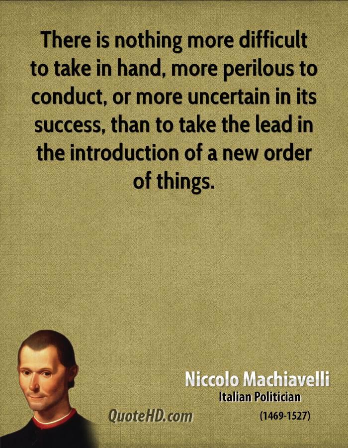 Niccolo Machiavelli's quote #8