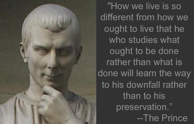 Niccolo Machiavelli's quote #1
