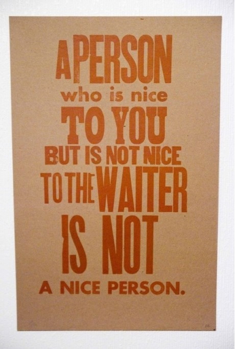 Nice Person quote