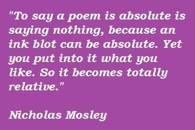 Nicholas Mosley's quote #4